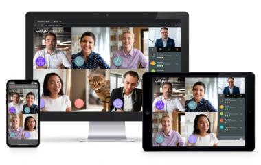 Coligo MEETINGS: Introductie van 'Stickers' & 'Active speaker'